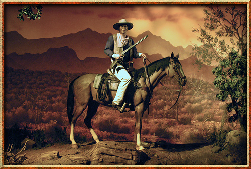 John Wayne's Introduction to Western Horseback Riding