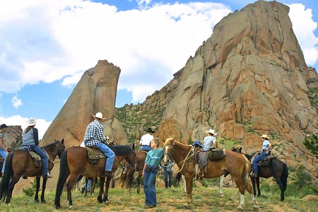 Save on gas during a horseback riding vacation at Tarryall River Ranch in Colorado