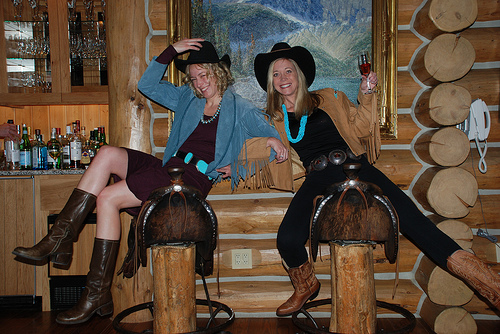 Triple Creek Ranch Cowgirls Kerri Dellisanti & Stephanie Oswald