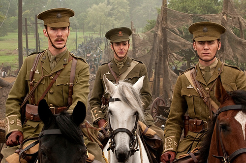 In War Horse – gruesomeness of war lacks finesse. Joey Albert photo courtesy of Dreamworks