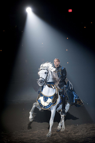 Medieval Times not your ordinary horseback riding vacation. Have you been josting on horseback?