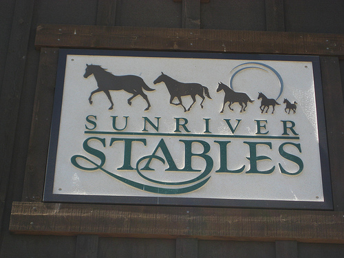Sunriver Stables invites you on a horseback riding vacation in central Oregon