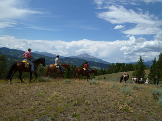 """Lone Mountain Ranch Horseback Riding"""