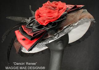 Dancin Renee Hat, Maggie Mae Designs