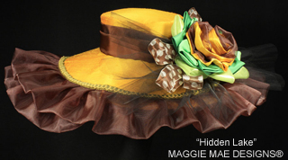 Hidden Lake hat, Maggie Mae Designs
