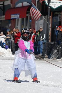 Leadville skier
