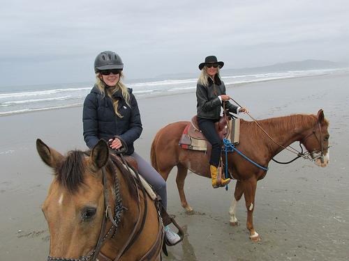 horseback riding, Cayucos,