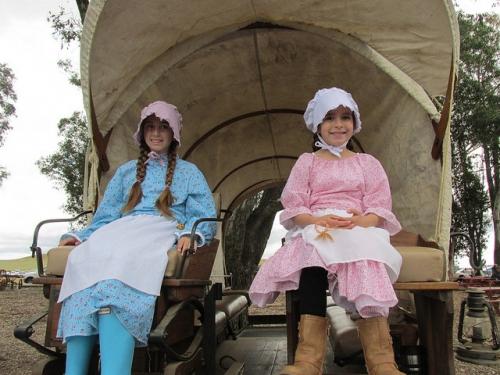 praire girls, Rush Ranch, Solano County