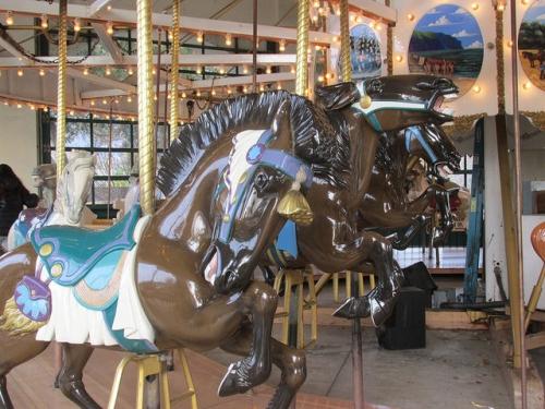 carousel horse, Allan Herschell