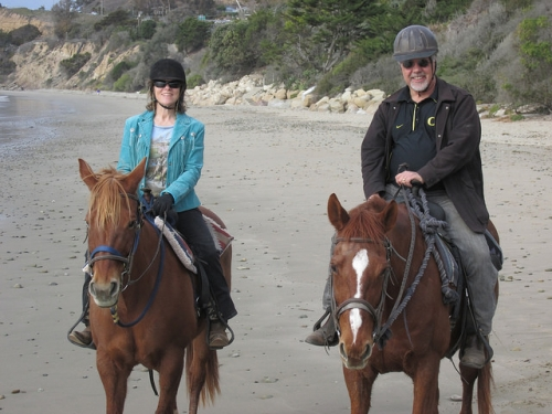 nancy brown, santa barbara, horseback riding