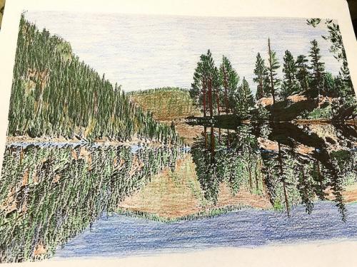painted rocks state park, montana