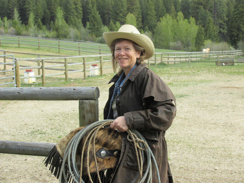 cowgirl, nancy d. brown, montana