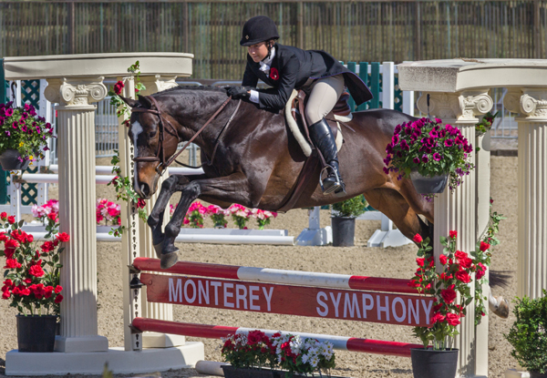 horse, derby day, monterey symphony, pebble beach equestrian center