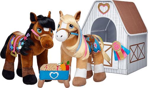 hearts and horses riding club, build a bear, horses