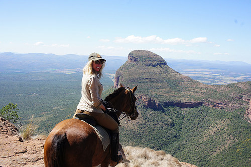 cecile auersperg, horseback riding, south africa, safari on horseback