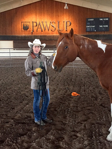 stacy westfall, the resort at paws up, cowgirl, western horsemanship