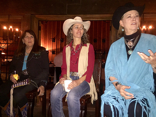 national cowgirl hall of fame, cathy smith, stacy westfall, dr. eleanor green, the resort at paws up, greenough, montana