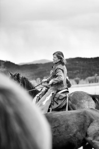 nancy d. brown, nancy brown, writing horseback, cowgirl spring roundup, resort at paws up, montana
