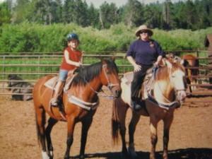 Kendall & Nancy Brown's horseback riding vacation