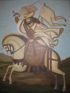 Horseback Riding Spanish Conquistador