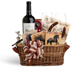Horseback Riding Vacation Giflt Basket
