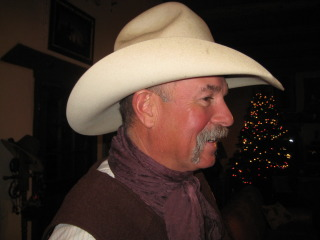 Cowboy Dee Steed takes guests on horseback riding vacations at the Kay El Bar Guest Ranch