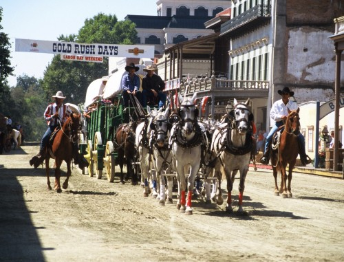 Gold Rush Days Horseback Riding Vacation in Sacramento, California