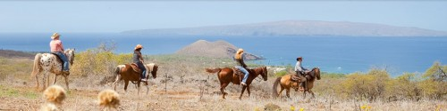 Horseback Riding Vacation at Makena Ranch, Maui, Hawaii