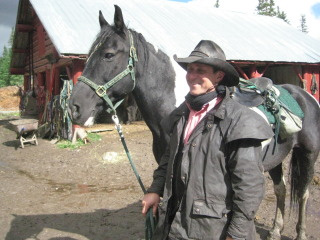 Timberline Tour Guide Ron Arnett takes us on a horseback riding vacation in Banff National Park