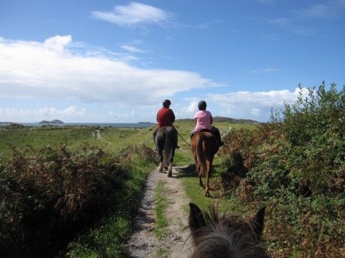 Horseback Riding Vacation with Eagle Rock in County Kerry, Ireland