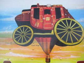 Horseback riding vacation with New Mexico Wells Fargo Hot Air Balloon