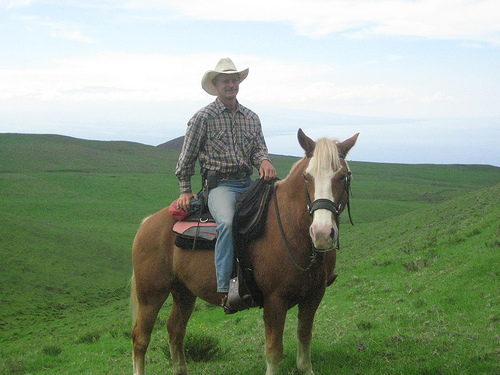 Gary Siemens of Paniolo Adventures on a Big Island Horseback Riding Vacation