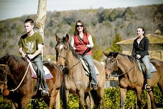 Horseback Riding Vacation in Tuscany, Italy