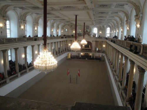 Horseback Riding Performance to begin at Vienna's Imperial Palace