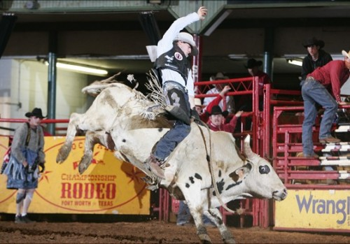 Visit the Stockyards Championship Rodeo during your Horseback Riding Vacation