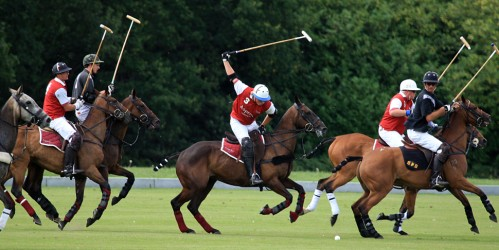 Fancy a game of polo on your horseback riding vacation at Coworth Park Hotel