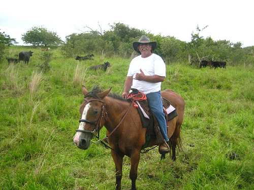 Take a horseback riding vacation with Donald Pascual on Hawaii's Big Island at Pa'ani Ranch