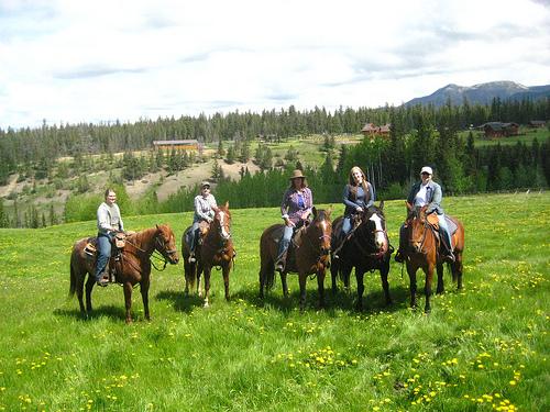 Girls Getaway Horseback Riding Vacation at Echo Valley Ranch