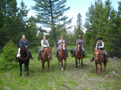 Canadian Horseback Riding Vacation at Echo Valley Ranch