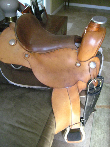 Ortho-Flex Western Saddle For Sale to Good Home