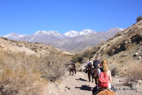A horseback riding vacation in Mendoza, Argentina