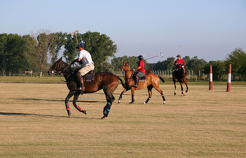 From beginners to experienced equestrians - try a horseback riding vacation at Capilla Polo Club in Argentina