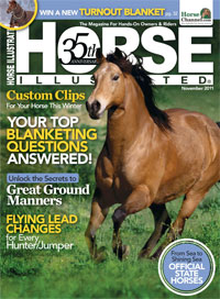 Horse Illustrated 11 2011 cover