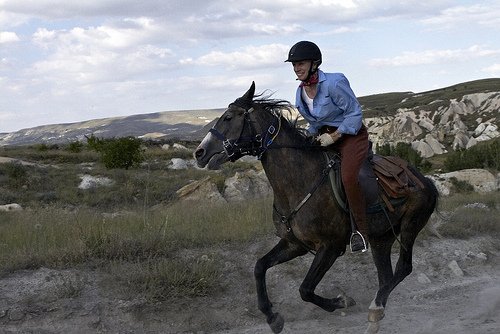 Enjoy a horseback riding vacation in Cappadocia, Turkey while assisting with dental care for villagers