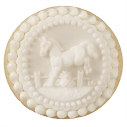 Queen City Cookies little jumper - edible gifts for the horse lover