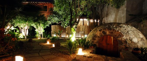 After your horseback riding vacation try The Temazcal at Casa de Sierra Nevada