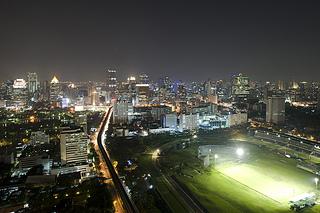 """St. Regis Bangkok Royal Bangkok Sport Club View Night"""