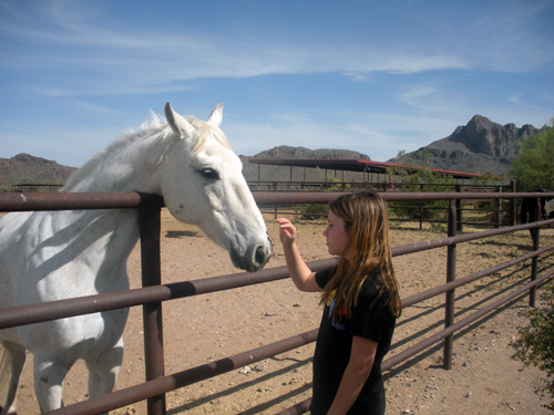 Jason and his daughter experienced an exceptional horseback riding vacation at White Stallion Ranch in Tucson, Arizona
