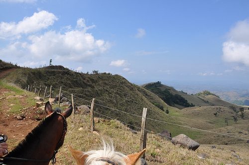 Horseback riding vacation in the mountains of Costa Rica