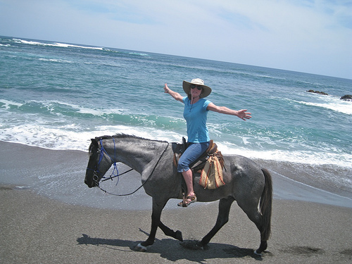 Bucket List: Horseback riding vacation on the beaches of Costa Rica – CHECK!